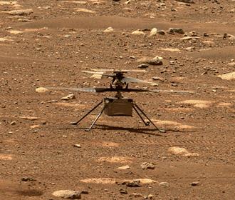 Дрон NASA совершил первый полет на Марсе