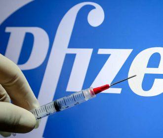На Украине начали применять вакцину Pfizer