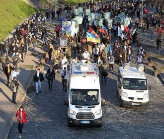 В Раде осудиле шествия, прославляющие войска СС