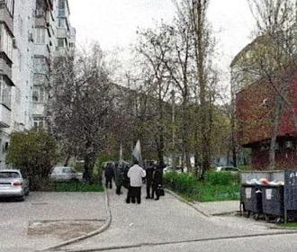 Возле дома российского спецагента Кулинича на Печерске прошла акция протеста, - СМИ
