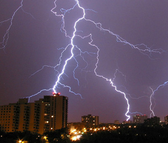 В Украине ожидаются кратковременные дожди с грозами