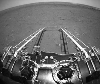 Китайский зонд сделал фото на поверхности Марса
