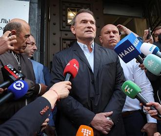 Путин, Володин и Медведев резко раскритиковали украинскую власть за репрессии против оппозиционного лидера Виктора Медведчука