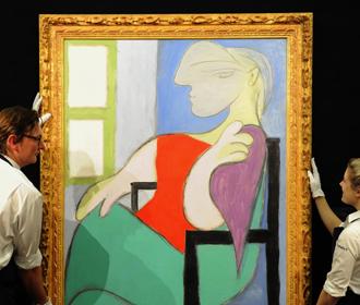 Картину Пикассо продали за более чем 103 млн долларов