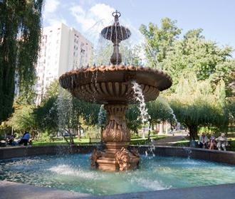 В Киеве стартовал сезон фонтанов