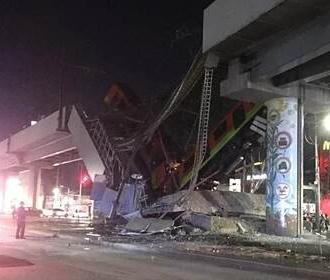Обрушение моста в Мехико