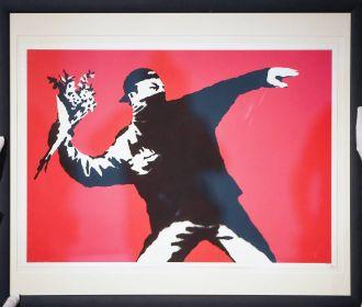 Sotheby's впервые ввел оплату криптовалютой за картину Бэнкси