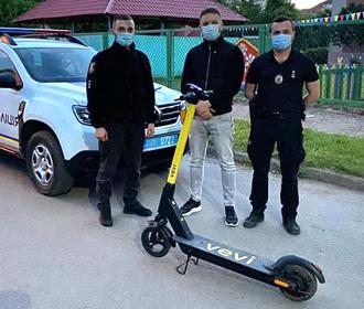 В Ужгороде в первые дни проката украли семь электросамокатов