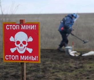 В Украине создадут перечень заминированных территорий Донбасса