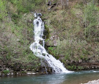 Водопад с. Каменка