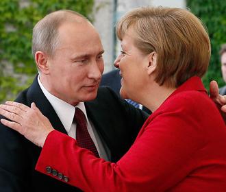 В Москве проходит встреча Путина с Меркель