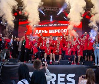 """Юрий Чаборай: """"Когда-то президент, посещая Ровно, пообещал, что деньги на стадион будут. И обещание сдержал!"""""""