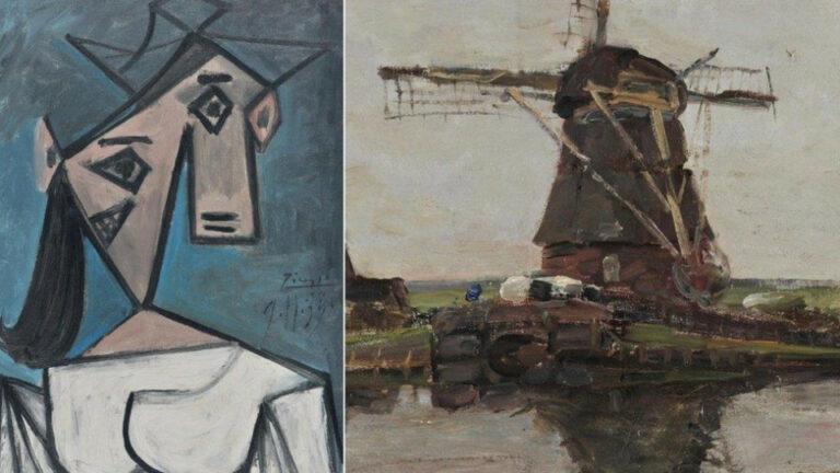 В Афинах нашли два украденных 9 лет назад полотна Пикассо и Модриана