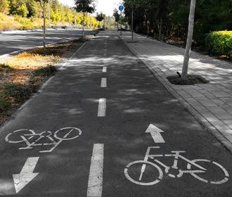 В Киеве в течение года появится 100 километров велодорожек