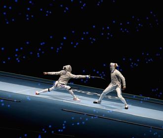 Украинская мужская сборная по фехтованию заняла 6-е место на Олимпиаде