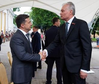 Зеленский: мы всегда будем помнить о помощи Литвы