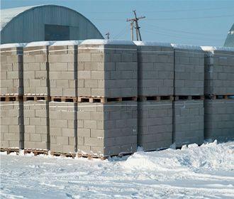 Как построить дом из газобетона зимой?