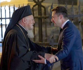 Интересный нюанс в освещении визита патриарха Варфоломея украинскими и зарубежными СМИ
