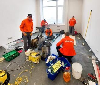 Как быстро убрать квартиру после ремонта