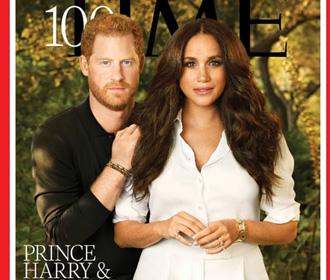 В позе Меган Маркл на обложке Time увидели власть над мужем