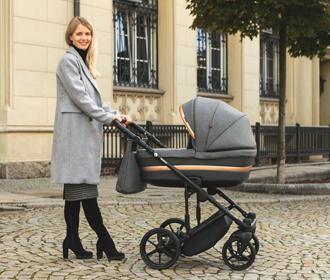 Комфортная коляска Адамекс: счастлив малыш, спокойна мама