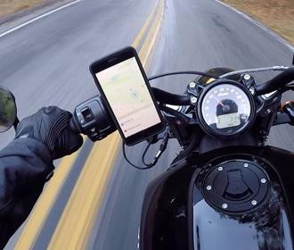 Apple призвала не закреплять смартфоны на мотоциклах из-за вреда камерам