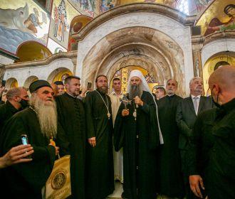 Торжества в Черногории: делегация УПЦ приняла участие в интронизации нового митрополита