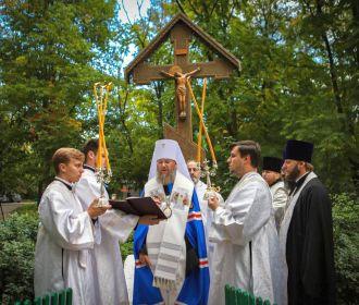 УПЦ в Бабьем Яру молились о расстрелянных жертвах и призвали к молитве за всех невинноубиенных