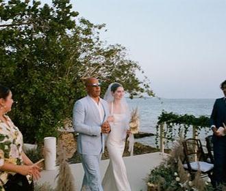 Вин Дизель отвел к алтарю дочь Пола Уокера во время ее свадьбы