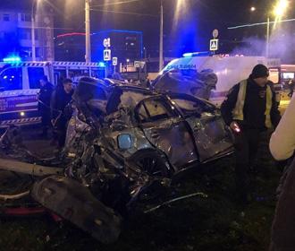 За рулем Infiniti, попавшего в Харькове в ДТП, был 16-летний подросток - полиция